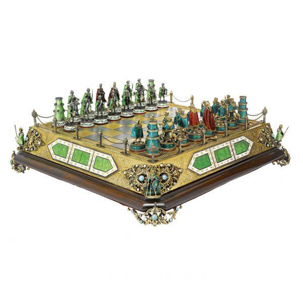 Kącik do gry w szachy (i nie tylko)