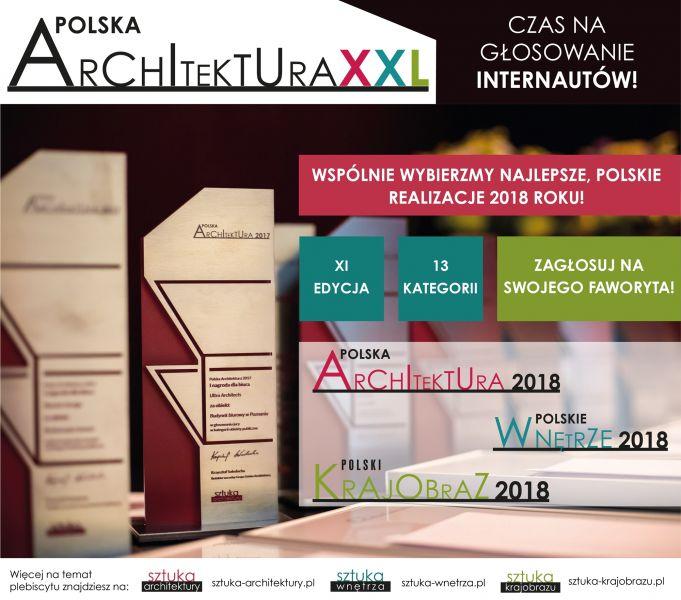 Plebiscyt Polska Architektura XXL – wybierz najlepszą realizację 2018