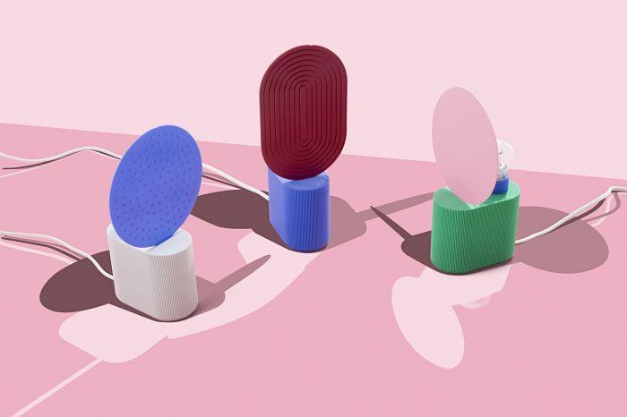 Lampy z serii Neptune, UAU project. UAU project – dekoracje drukowane w technologii 3D