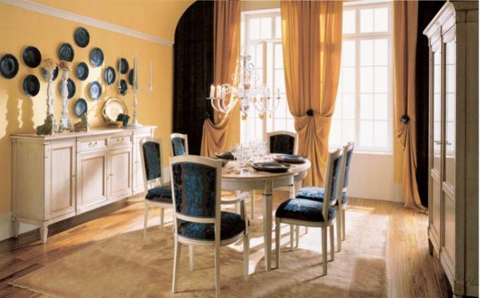 Bellagio - w stylu francuskiego dyrektoriatu, czyli powrót do prostych linii. Owalny stół kosztuje od 10 200 zł, krzesło