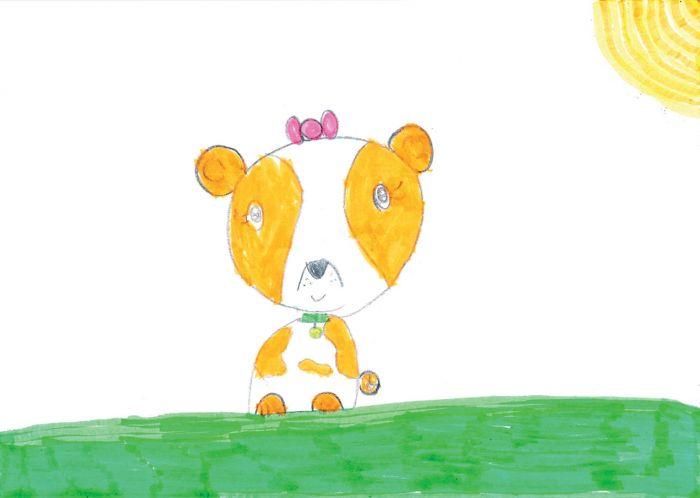 Biżuteria z dziecięcych rysunków