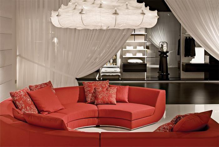 Dom marzeń zaprojektowany dla firmy Poliform i zaprezentowany po raz pierwszy na tegorocznych targach w Mediolanie.