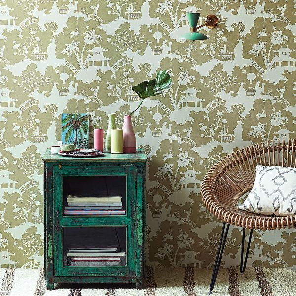 Orientalne wzory tapet Jima Thompsona