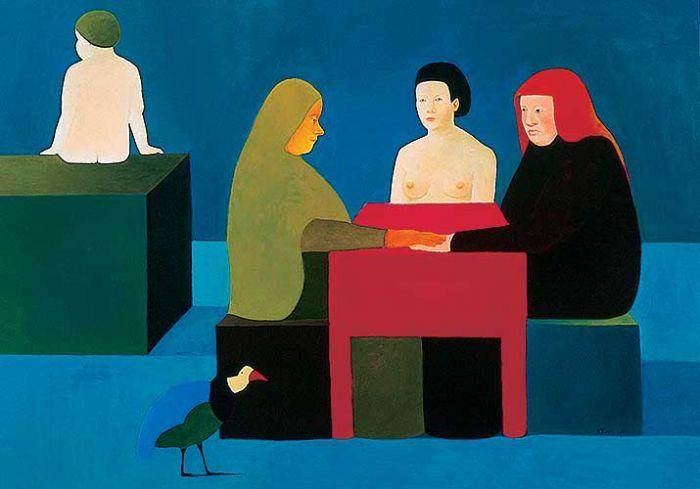 Katarzyna Jędrysik-Castellini Musimy się zastanowić , 2003 r.