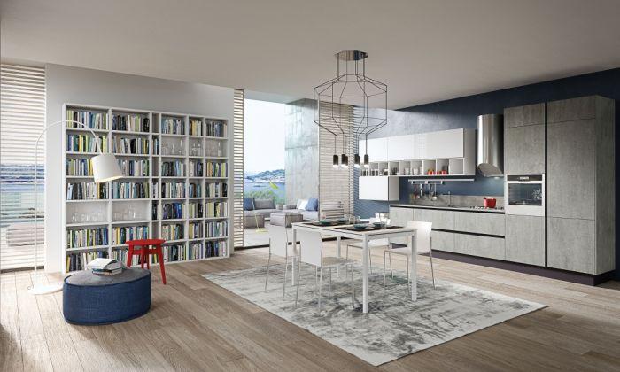 Kuchnia w salonie to praktyczne rozwiązanie dla tych, którzy lubią być zawsze razem