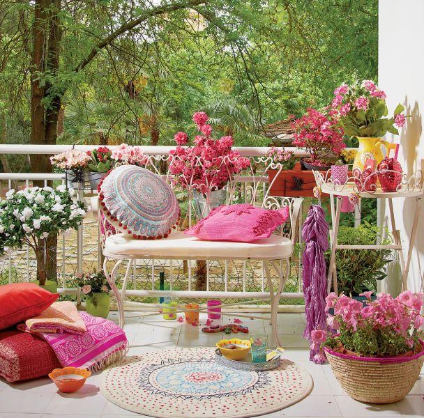 długo kwitnące kwiaty na balkon i taras