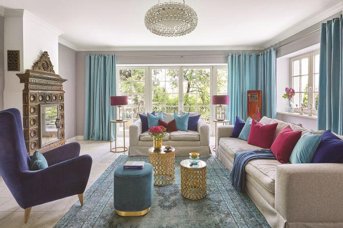 Eklektyczny styl w domu Odety Moro