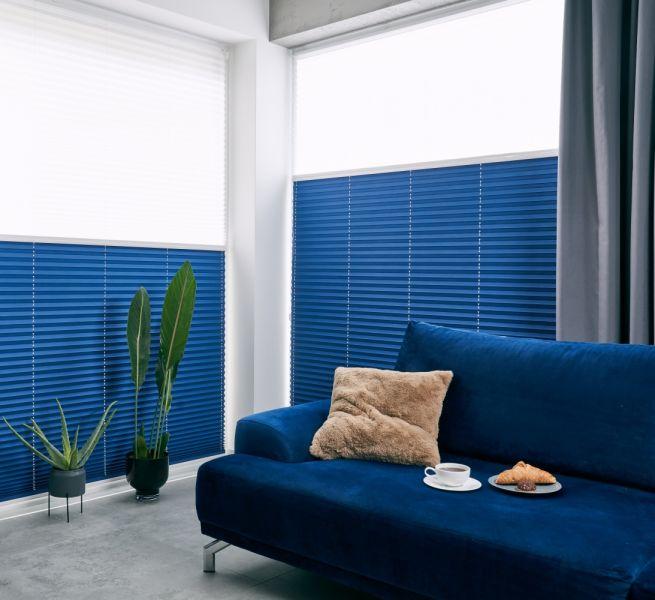 Plisy – dekoracyjne żaluzje do dużych okien