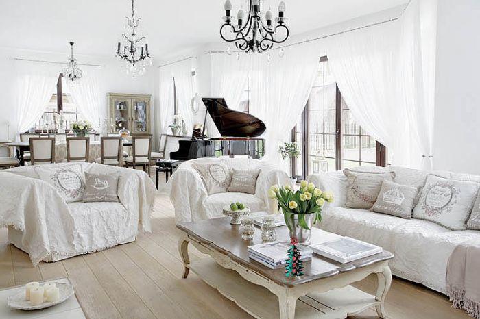 Urządzony w stylu francuskiego maison.