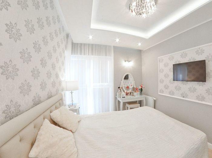 wiosenna metamorfozę małej sypialni