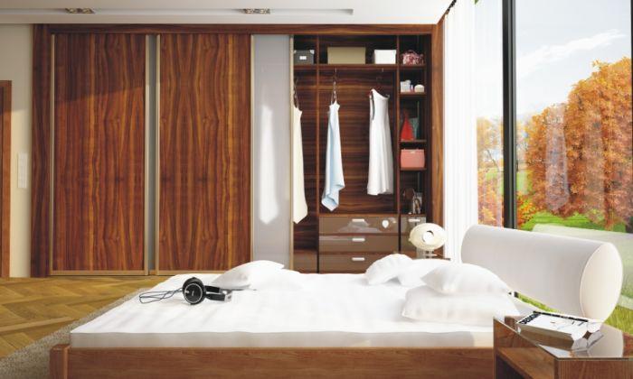 Dobrze zaprojektowane szafy i garderoby