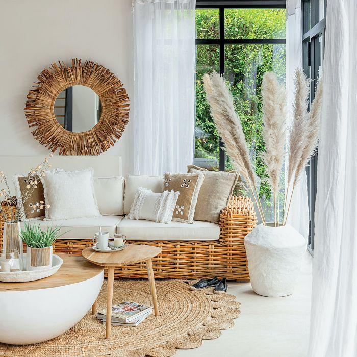 letnie dekoracje do salonu