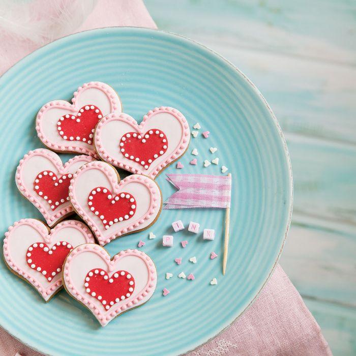 Ciasteczka słodkie serduszka