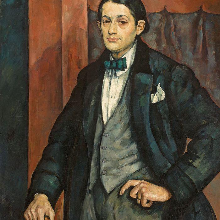 Roman Kramsztyk Portret rzeźbiarza Henryka Kuny , 1917 r.