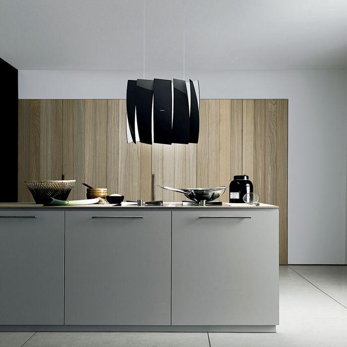 Ten okap przypomina lampę, jest podświetlany i cicho pracuje. SWING, FALMEC POLSKA, falmecpolska.pl