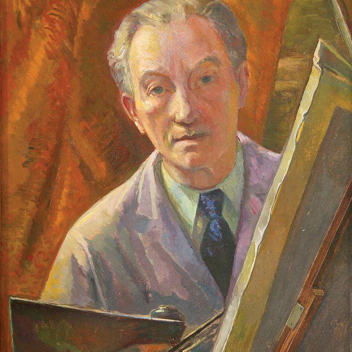 Antoni Michalak Autoportret , lata 50.-60. XX w.