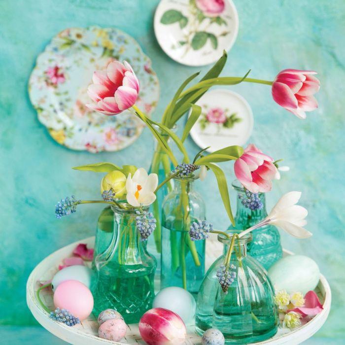dekoracje stołu wielkanocnego