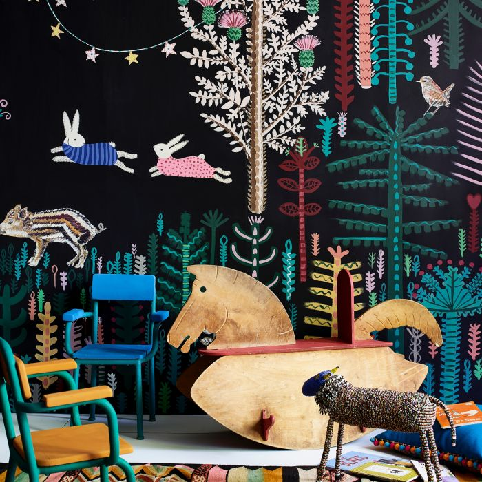 Żegnaj nudo, czyli jak pomalować pokój dziecięcy