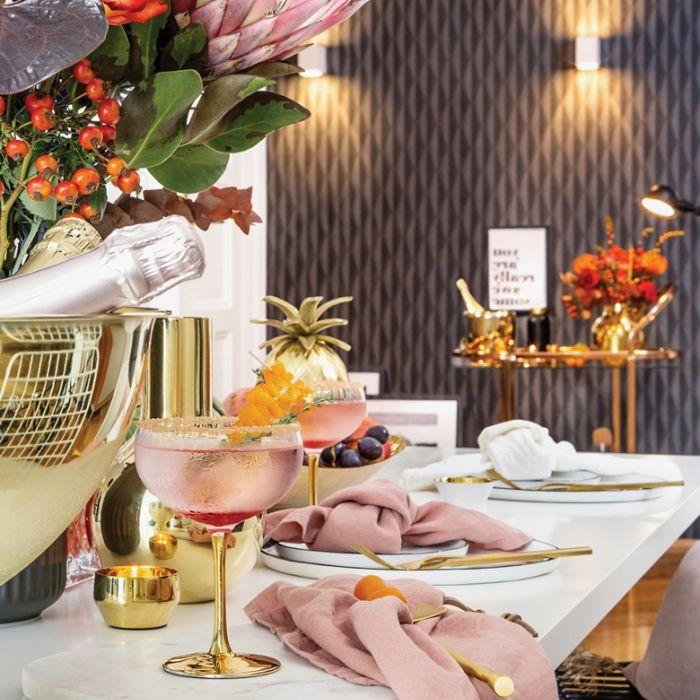 eleganckie szkło do szampana whisky i koktajli