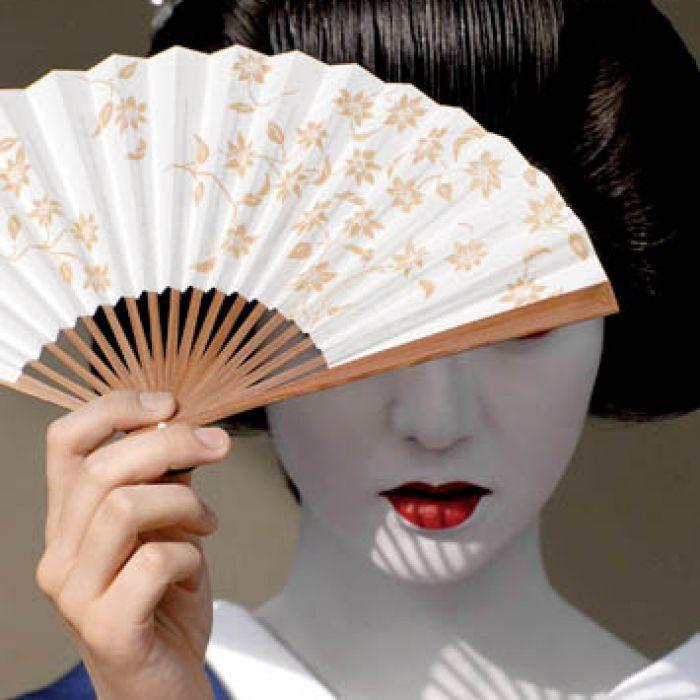 Jedna z pierwszych wachlarzy pochodzą z Japonii. Fot. FORUM