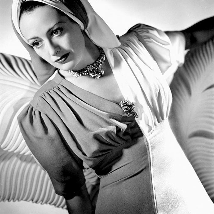 Joan Crawford, 1940 r. Biżuteria z Hollywood