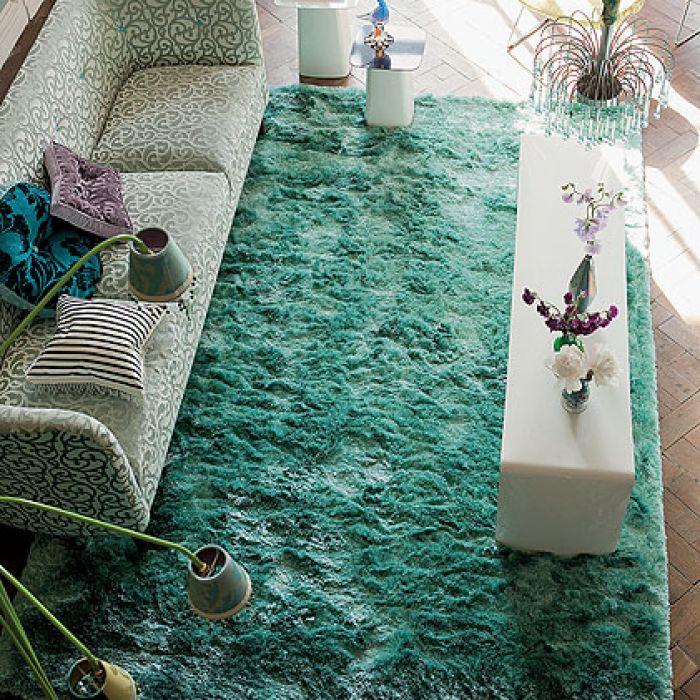 Od Designers Guild. DECODORE. Miękkie i kolorowe dywany