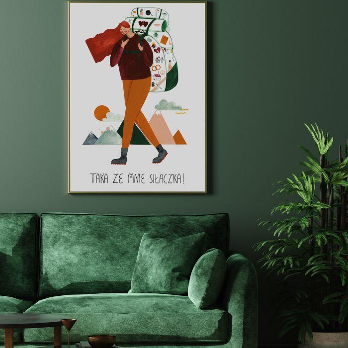plakaty na dzień kobiet