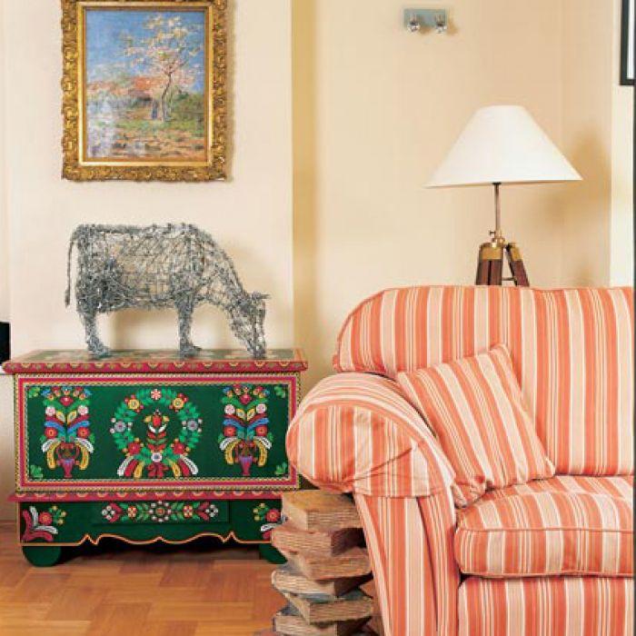 Polskie mieszkanie rzeźbiarki Valerie Legrand