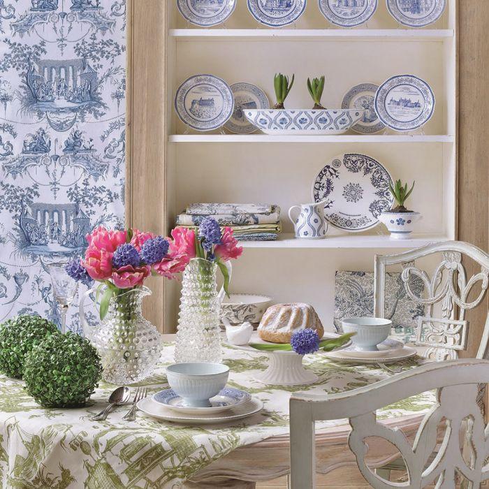Stół wielkanocny - najpiękniejsze dekoracje w różnych kolorach