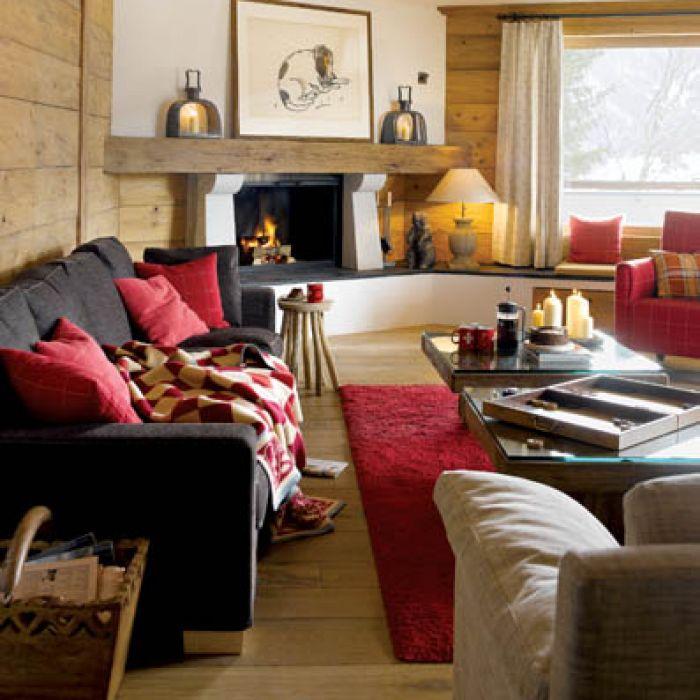 Współczesna wersja przypiecka. Alpejski dom Anny