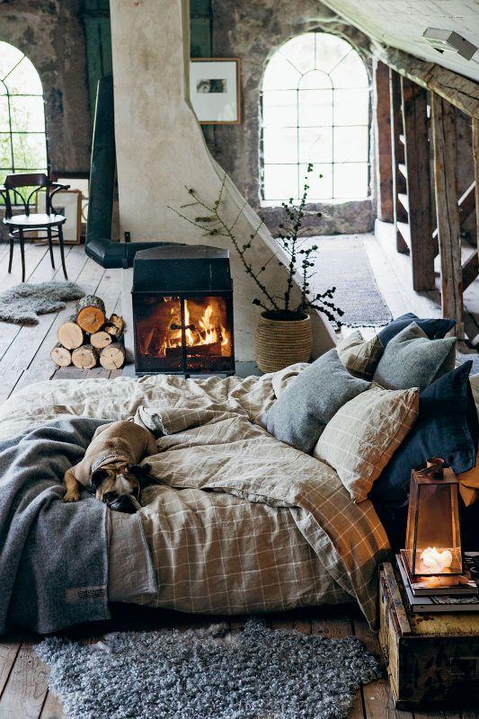 Naturalne tkaniny do sypialni
