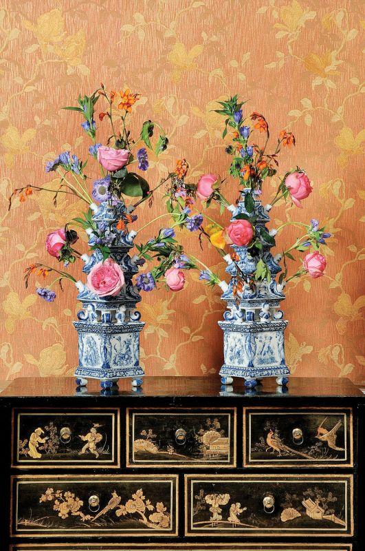 Delft, XVIII wiek. Tulipaniera