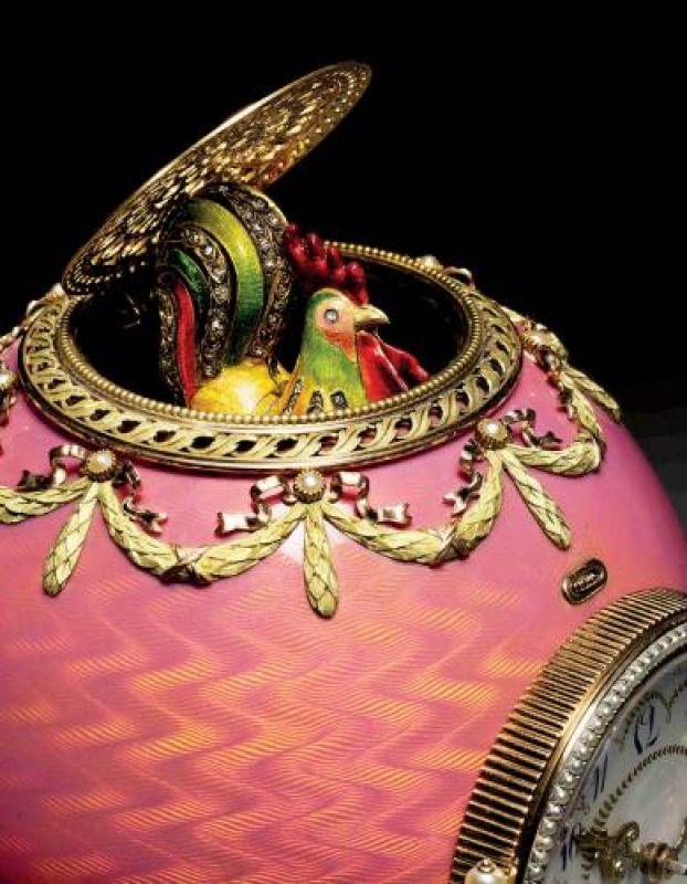 Jajko Fabergé Rotschidów, które w 2007 roku osiągnęło na aukcji cenę 18,5 mln dolarów, fot. BE