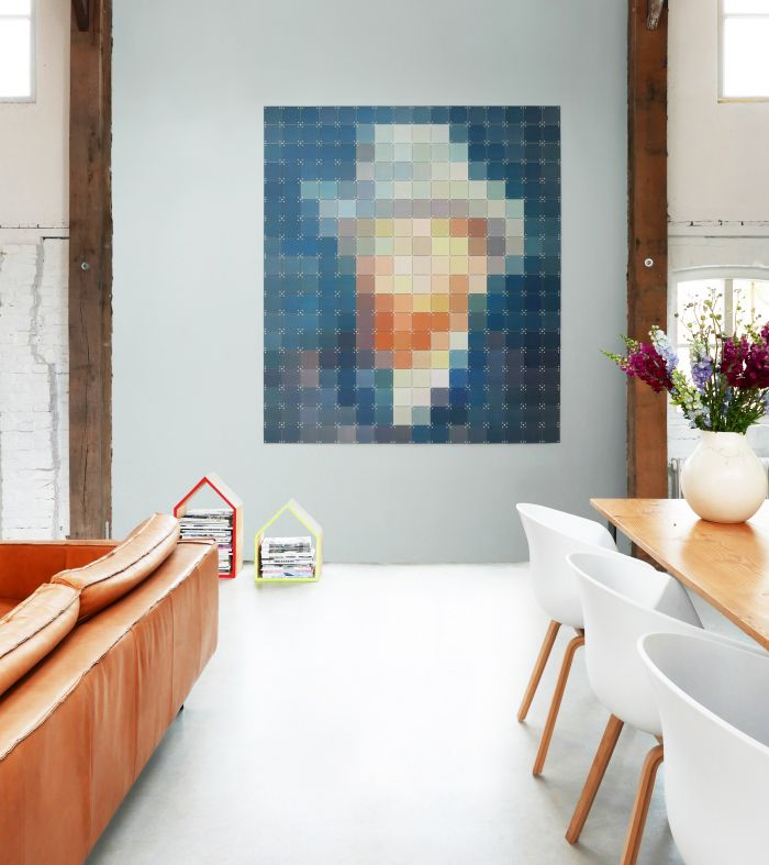 Obrazy na ścianę układane z modułów