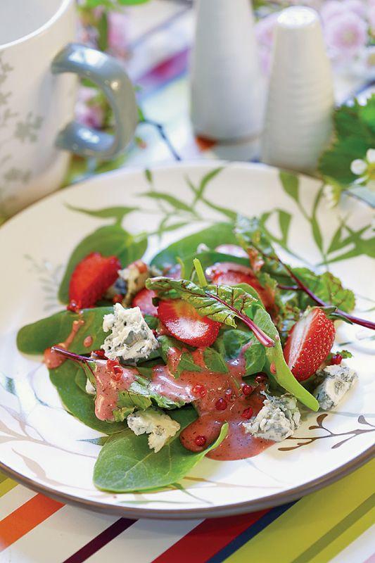 Oryginalne przepisy na dania z truskawkami