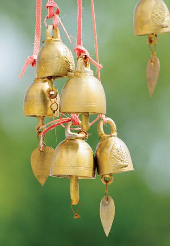 Stare orientalne dzwonki. Fot. Shutterstock