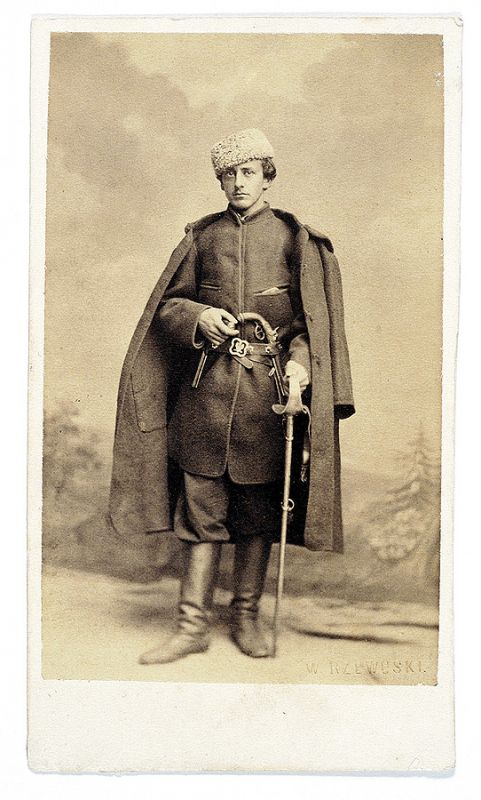 Walery Rzewuski Portret Adama Zagórskiego , 1863 r.