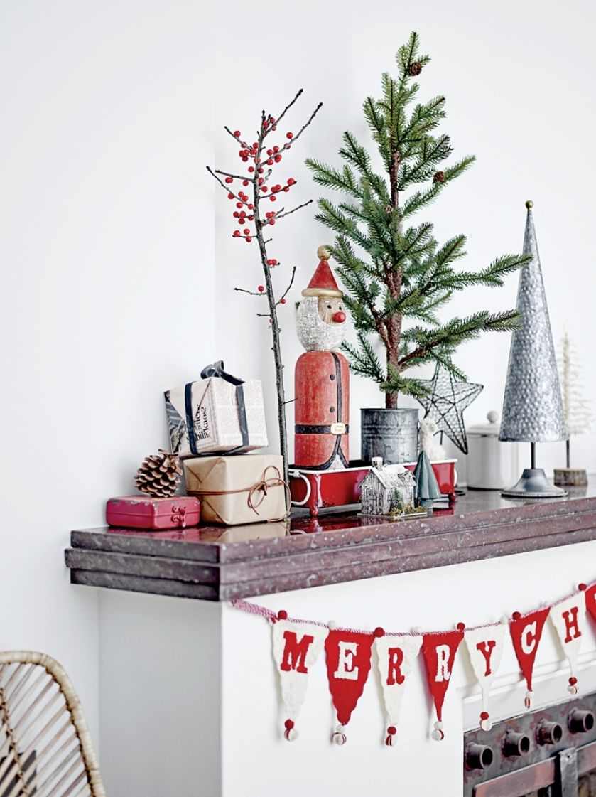 dekoracje bożonarodzeniowe w stylu skandynawskim