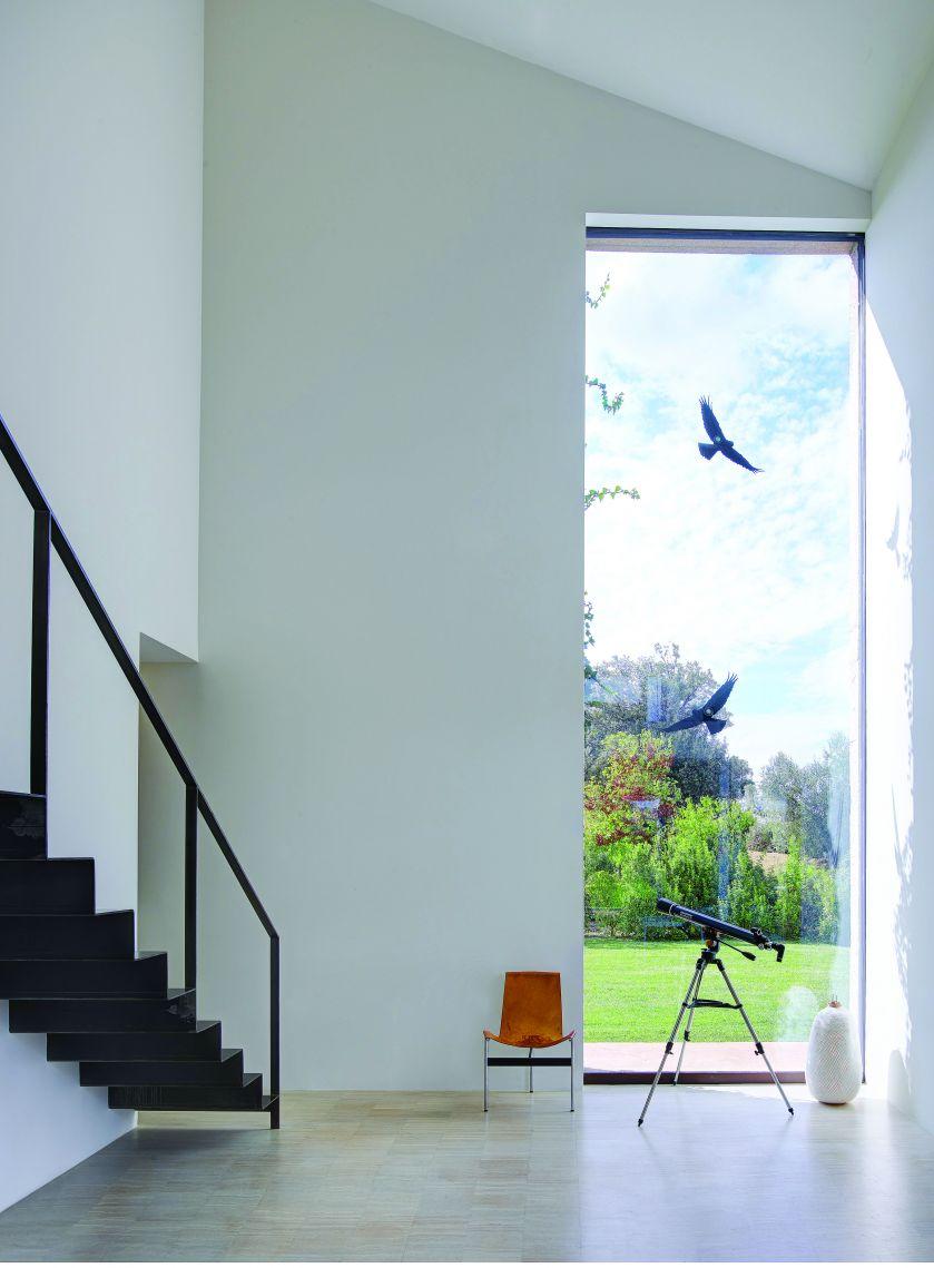 minimalistyczne wnętrza schody