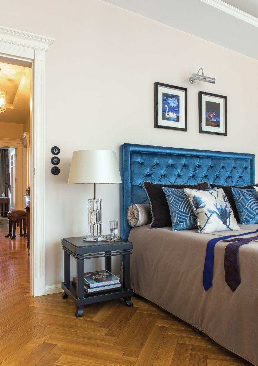sypialnia w stylu art deco