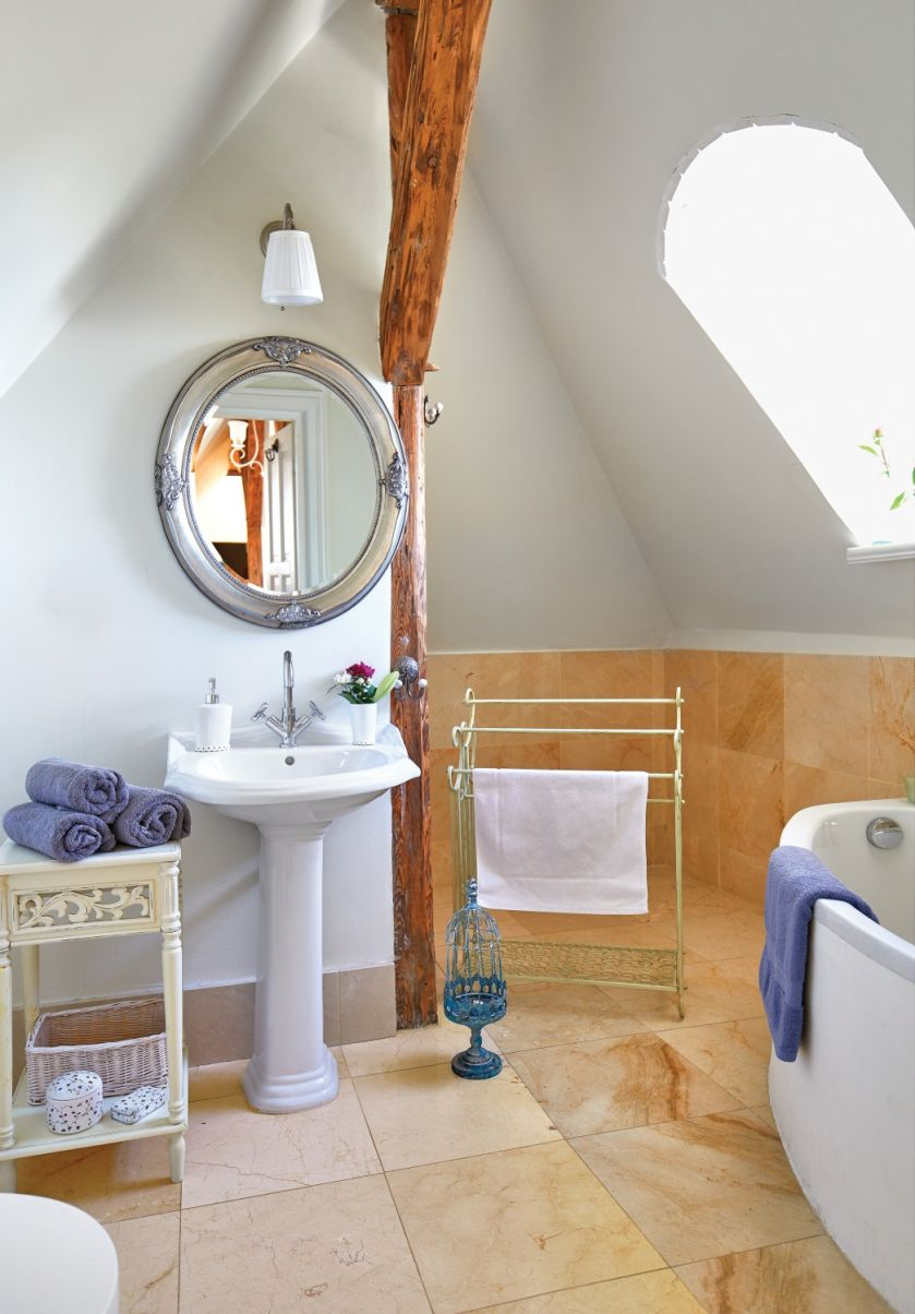 jak urządzić łazienkę w pałacu