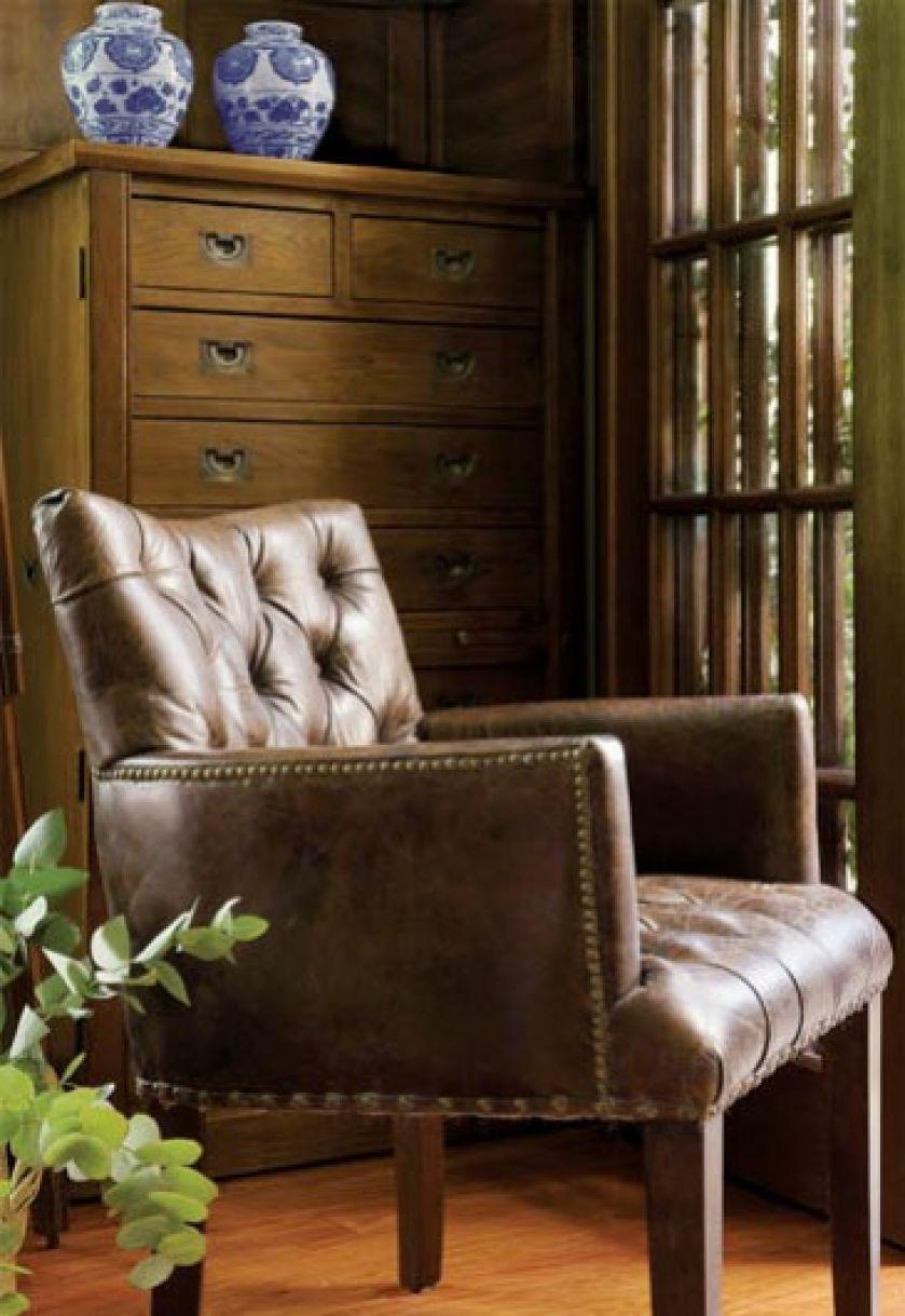Vintage Collections - skórzany fotel w kolorze Cigar. FABRYKA WNĘTRZ