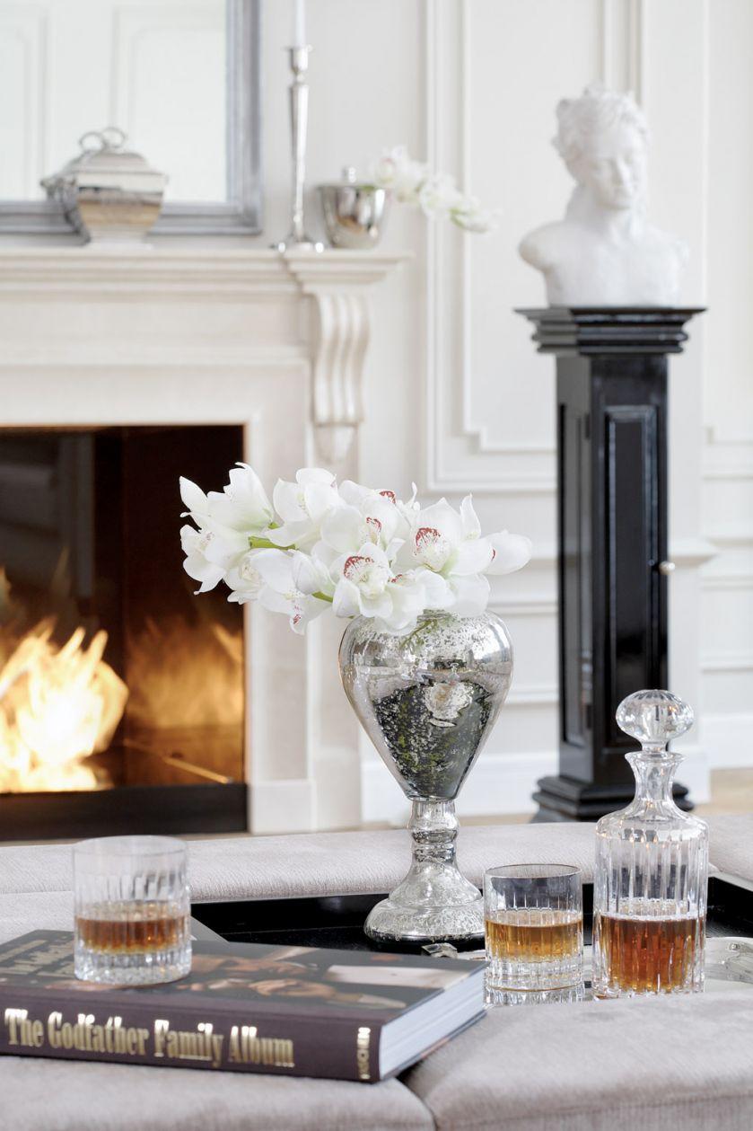 elegancki salon w stylu francuskim