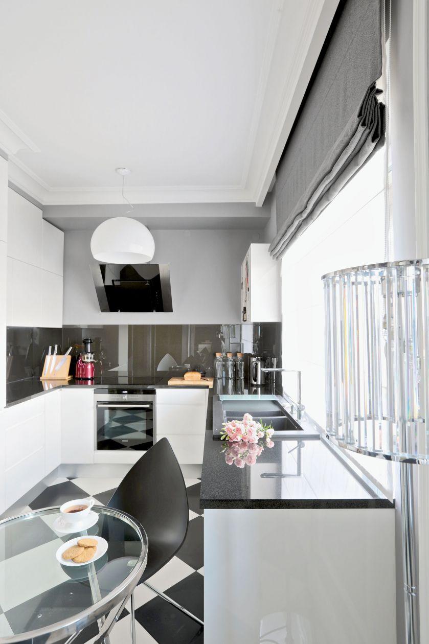 paryski styl kuchnia lampa