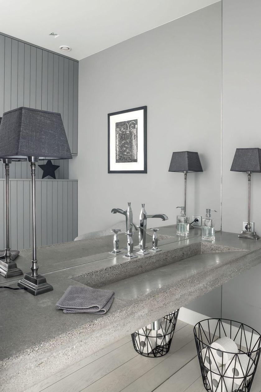 nowoczesny dom łazienka