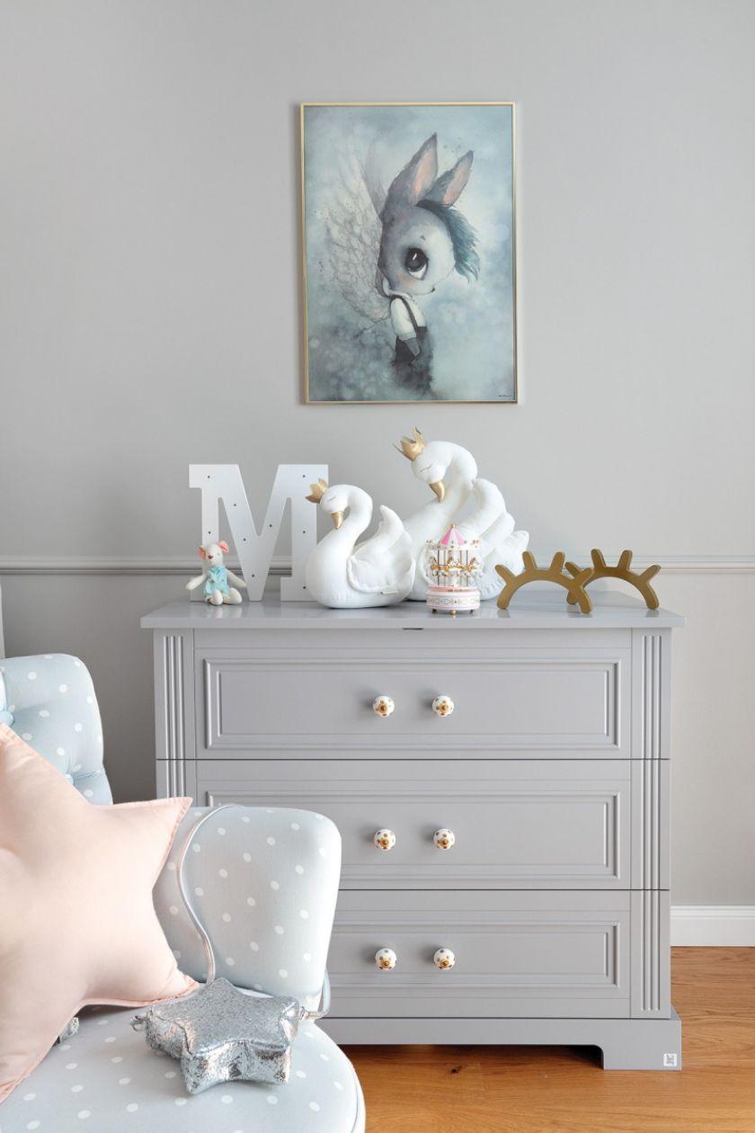 pastelowy pokój dla dziecka aranżacje