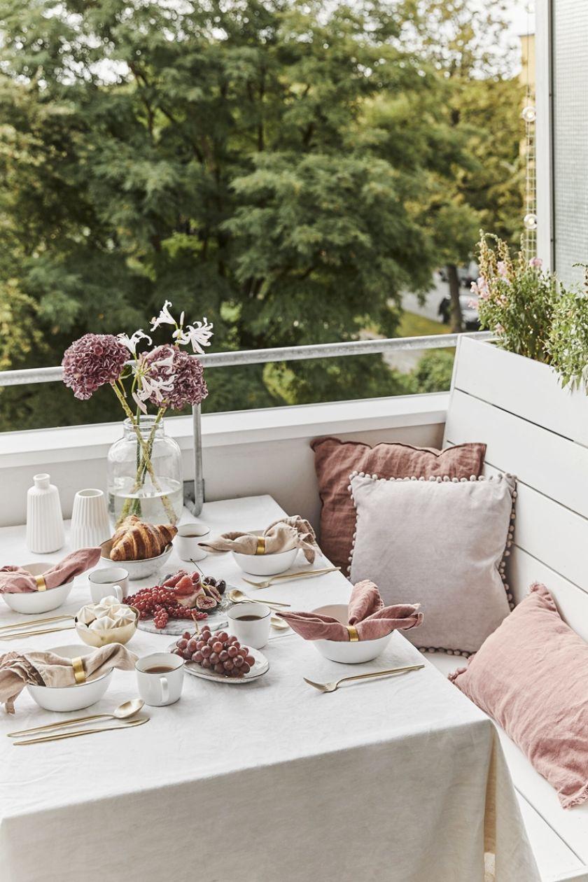 romantyczny balkon aranżacje