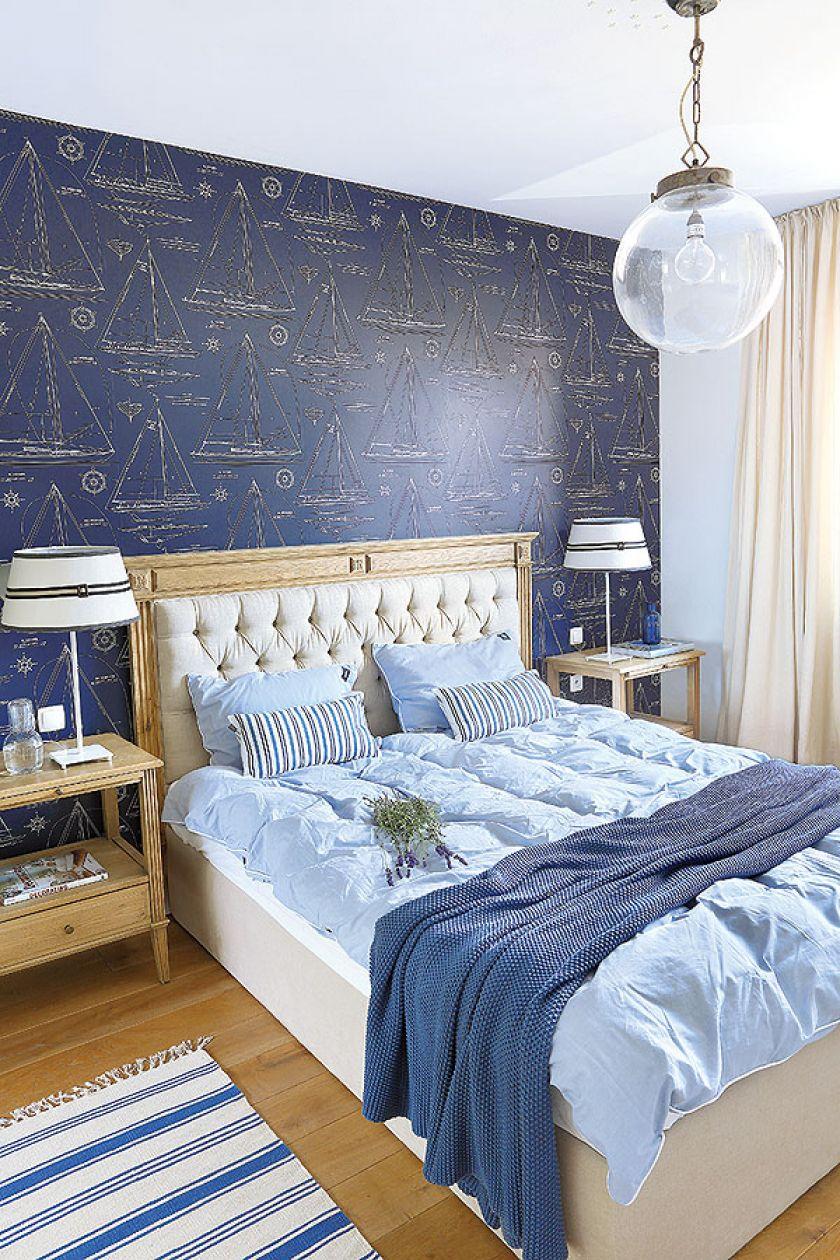 sypialnia w stylu skandynawskim pomysł