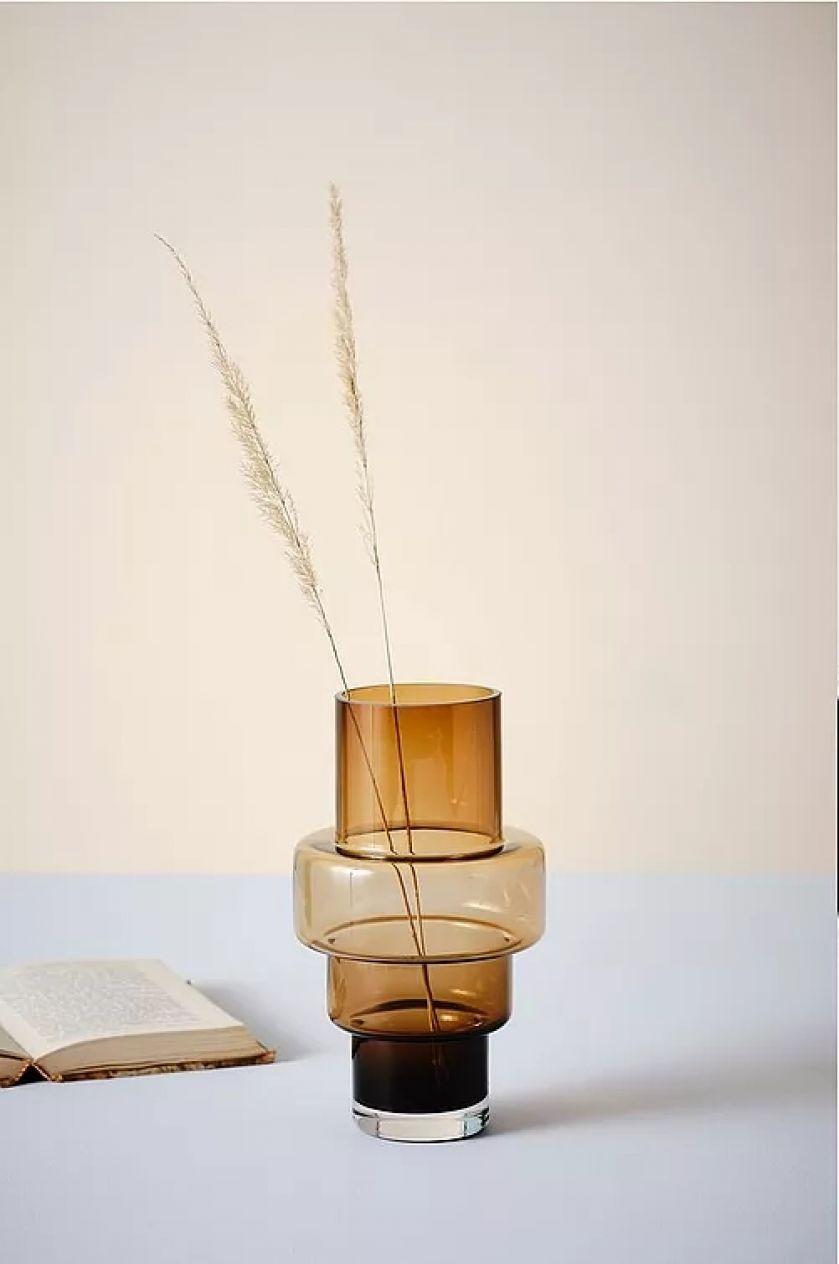 dekoracyjny wazon ze szkła
