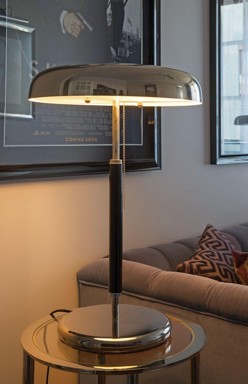 lampa w stylu art deco